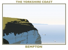 railway posters, posters, Yorkshire coast, , Bryan harford