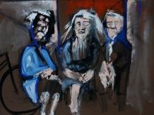 GouachePainting, Figure Painting, Bryan Harford, Norfolk