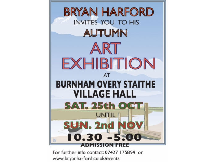 Norfolk, Burnham, Railway posters, Bryan Harford, Art, Posters