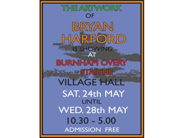 posters, norfolk, art, railway posters, bryan harford, north norfolk, exhibitions