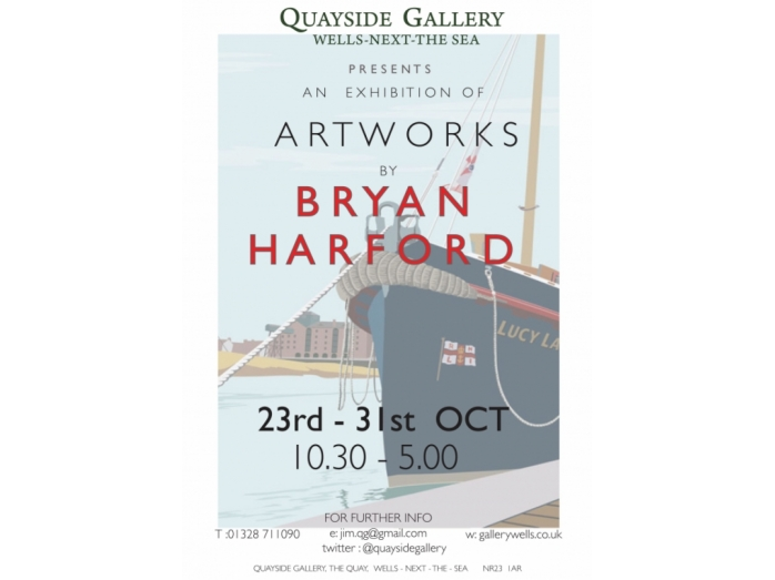 bryan harford, North Norfolk, railway posters, posters