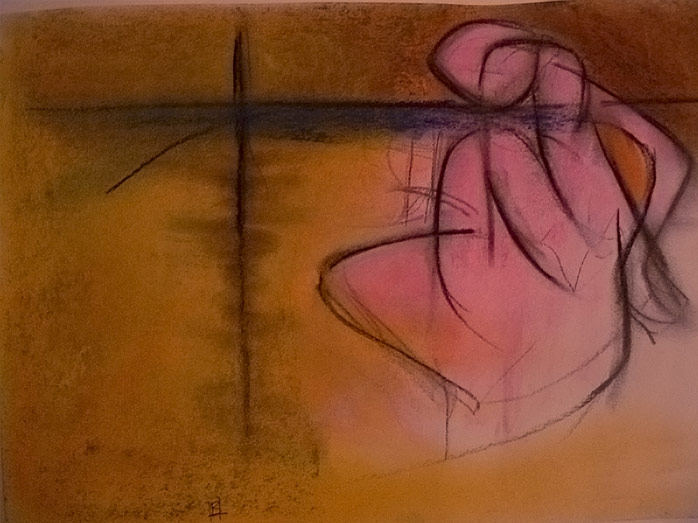 Abstract Pink Nude 2
