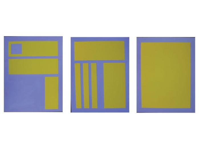 Acrylic paintings, family, Bryan Harford,Norfolk